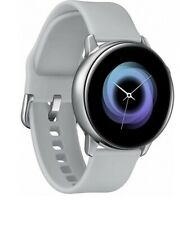 Samsung Galaxy Watch Active R500 Silver Smartwatch Fitness Tracker Wrist Watch