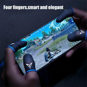 Phone Mobile Game Finger Sleeve Thumb Gloves Sweatproof Gamer-PUBG COD Equipment