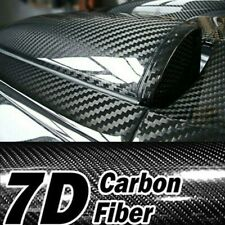 Parts Accessories Glossy Vinyl Film Car Interior Wrap Stickers Bubble Free Black Fits Isuzu