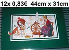 12 x12 x Set da tavola Tovaglietta Bernard ALPI Spinnrad DIVERTENTE DECORAZIONE