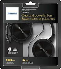 Philips Headphones On-Ear Wired Monitoring SHL3060BK/00  Christmas Gift