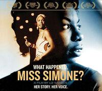 What Happened Miss Simone? - Simone Nina CD & DVD Set Sealed ! New !