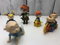 Vintage 1998 Nickelodeon Rugrats Movie Burger King Set of 9 Toys Kids Club Meal