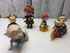 Vintage 1998 Nickelodeon Rugrats Movie Burger King Set of 9 Toys Kids Club Meal