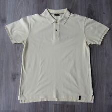 Da Uomo Vintage BARBOUR Pique Polo Shirt M Lemon International Beacon Brand SS