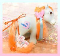 ❤️My Little Pony MLP G1 Vtg BRIGHT EYES 7 Seven Tales Pony UK Euro Diary❤️