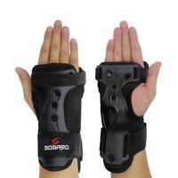 Winter Skate Ski Snowboard Hand Palm Protector Wrist Guard Support Brace Gloves