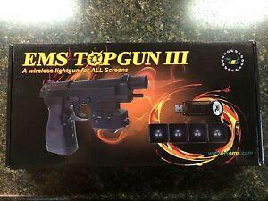 NEW EMS TOPGUN 3 Wireless Lightgun #1108 Windows, Wireless, MAME - Discontinued