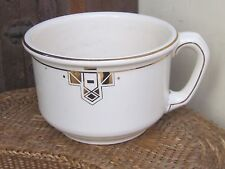 Rare Villeroy & Boch Dresdenn Anitque Big Wash Bowl Cup with Handle-PERFECT!