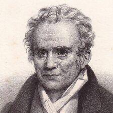 Gaspard Monge Beaune Côte d'Or 1833 Comte de Péluse Géométrie Campagne d'Egypte