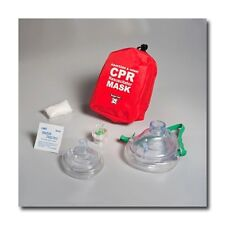 WNL CPR mask in Soft case w/ Gloves  Adult Child and Seperate Mask for Infants