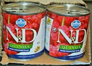 Farmina Natural & Delicious Quinoa Canine Weight Management Lamb 6-10.05 oz Cans