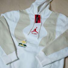 Jordan x Sudadera con capucha suéter de color blanco blanco tamaño mediano, DS a estrenar