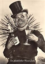 <A13> CHIMNEY SWEEP Postcard Good Luck New Years RPPC Photo Continental Size27