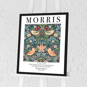 William Morris Framed Art Wallpaper Pattern Prints