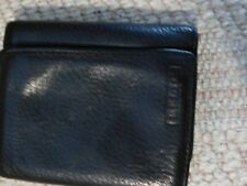 RELIC TRI-FOLD BLACK VERY SOFT LEATHER WALLET EUC