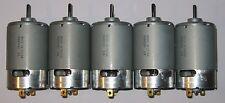 5 X Mabuchi 555 12V DC Motor - Printer / Portable Drill / Robotics Hobby Motors