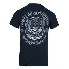 Skull & Pistons 100% cotton Biker T-Shirt- ORIGINAL SONS OF ARTHRITIS