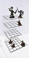 3D Combat Riser (tier) Clear - Dungeons & Dragons, Pathfinder, Critical Role