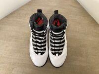 05 NIKE AIR JORDAN X 10 RETRO Steel Vintage Size 11 Sneaker Shoes Basketball NDS