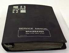 Hyster Spacesaver Lift Truck S60 / S120E Parts Manual 599765