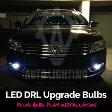2x VW Passat B7 2010-2014 DRL LED Xenon White Light Bulbs *SALE*