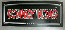 Donkey Kong Cabaret marquee sticker. 3.5 x 9. Buy any 3 stickers, GET ONE FREE!