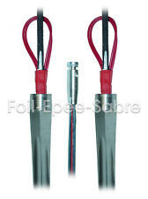 THREE Electric Wired Fencing Epee blades for aduls size 5