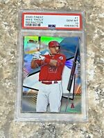 2020 Topps Finest REFRACTOR Mike Trout #1 PSA 10 GEM MINT Los Angeles Angels