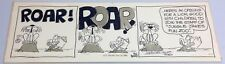 "Roger ""Rog"" Bollen (1941-2015) Original Comic Strip Art Drawing Animal Crackers"