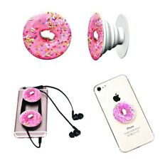 Popsocket telefono SELFIE Finger Grip Supporto iPhone Samsung Donuts