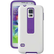 ILUV SS5FLIFWH Samsung Galaxy S5/V FlightFit Dual-Layer Case (White), Retail
