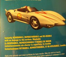 Speed Racer Racer And The Mach 5 Sticker Removable Reusable Border Decal USA