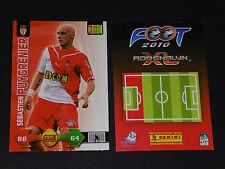 SEBASTIEN PUYGRENIER AS MONACO LOUIS II PANINI FOOTBALL ADRENALYN CARD 2009-2010