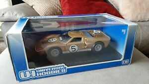 1:18 Ford GT40 No. 5 (3rd 24h Le Mans 1966) – Universal Hobbies – Gold - Rare