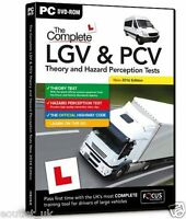 LGV PCV Driving Theory Hazard Perception Tests Preparation 2017 Vehicles for PC