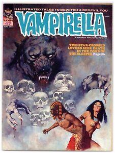 Vampirella 17 Jose Gonzales! 1972 Warren vampire horror demons! swamps! A172