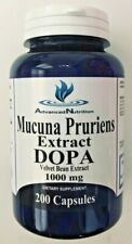 Mucuna Pruriens Extract DOPA 1000 mg L-Dopa Velvet Bean Extract 200 Caps