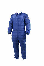 FR Cotton SFI Rated 3.2A/1 Single Layer Driver race suit (with gloves and hood)