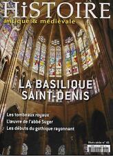 Histoire Antique et medievale H.s. N° 43 / Clairvaux L'aventure cistercienne