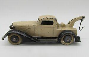Vintage 1930's Tootsietoy Graham Series Wrecker Tow Truck Two Tone - Original