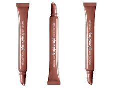Lot of 3 Revlon KISS PLUMPING LIP GLOSS - Almond Suede 515 - New / Sealed