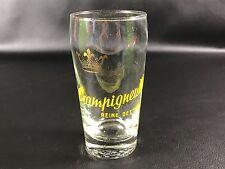 Rare verre à bière CHAMPIGNEULLES  EMAIL ANNEE 40 BEER