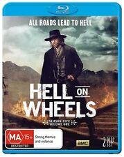 Hell On Wheels: S5 Season 5 Part A   Blu-Ray Region B