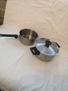 Norwegian Polaris stainless Steel Saucepans kitchen cooking pots