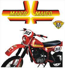 Kit Maico 250 1982 cristal/adesivi/adhesives/stickers/decal