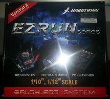 HOBBYWING 60 AMP 5.5T EZRUN COMBO GENUINE PRODUCT SEALED PACKAGE.