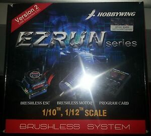 HOBBYWING 35 AMP 9T EZRUN COMBO GENUINE PRODUCT SEALED PACKAGE.