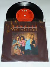 """THE BANGLES - Walking Down Your Street - Scarce 1986 7"""""""