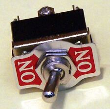 Toggle switch Pack of 15 DPDT On-On 20 Amp K202-15
